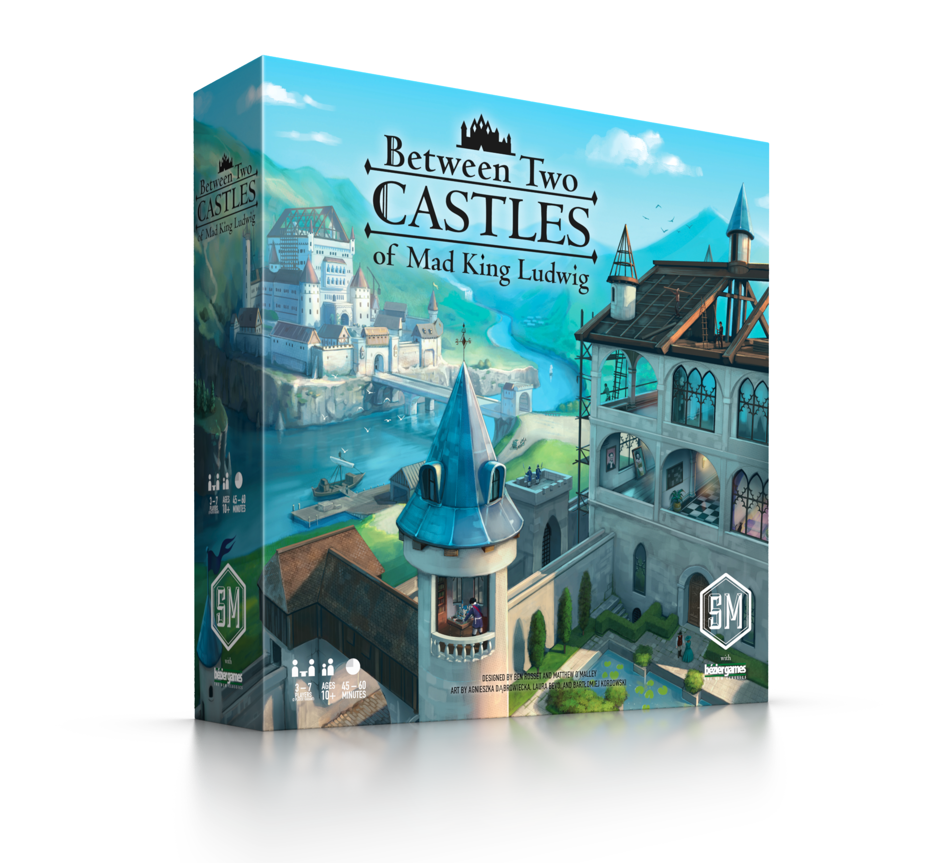 Transparent castle easy. Between two castles of