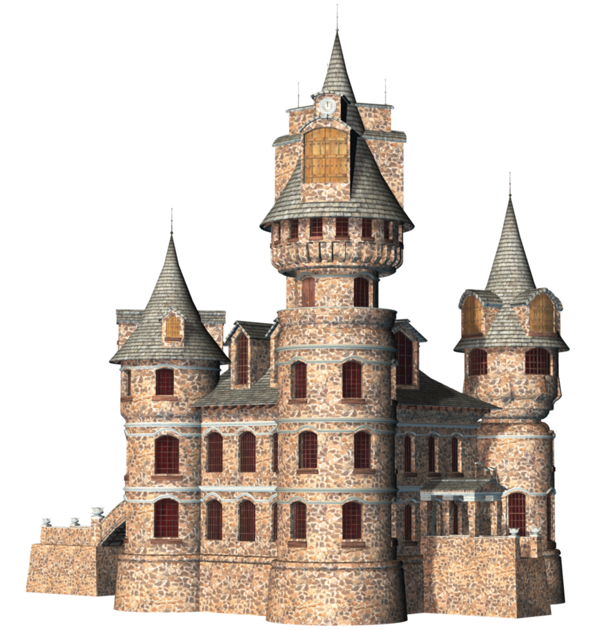 Transparent castle fantasy. Png free icons and