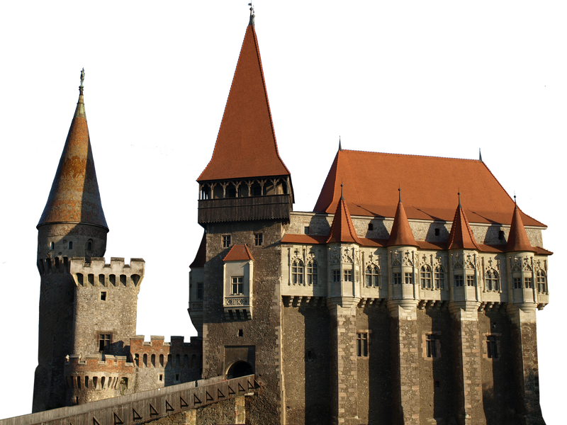 Transparent castle gothic. Png by dreamlikestock on