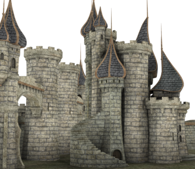 Transparent castle palace. Download free png fantasy