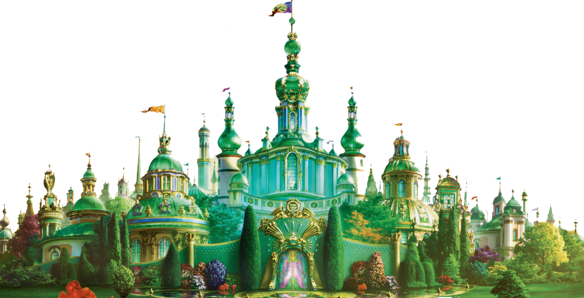 Transparent castle palace. Royal of oz wiki