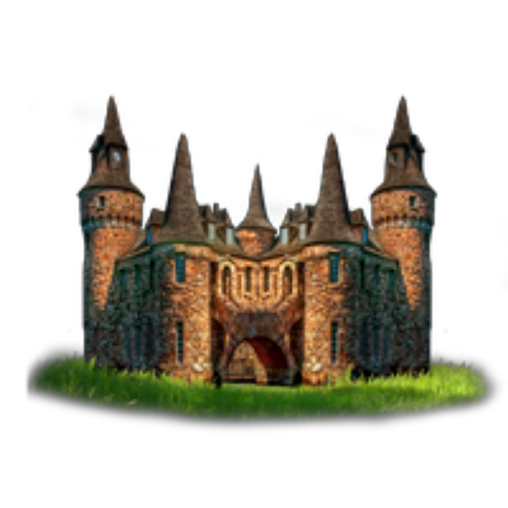 Ftestickers medevial. Transparent castle stone png transparent