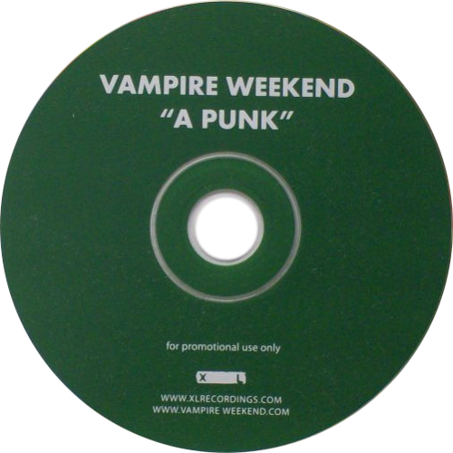 Transparent cd pale. Vampire weekend transparency a