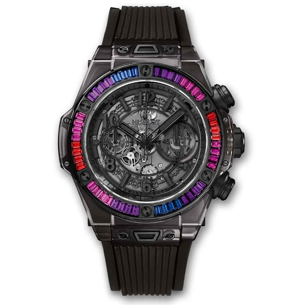 Transparent ceramic sapphire. Big bang unico all