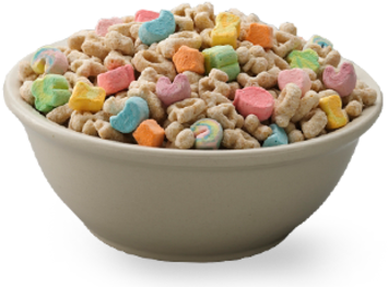 Transparent cereal lucky charm. Download charms bowl png