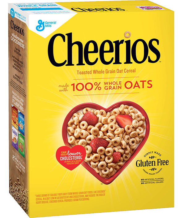 Transparent cereal bland. Cheerios general mills reviews