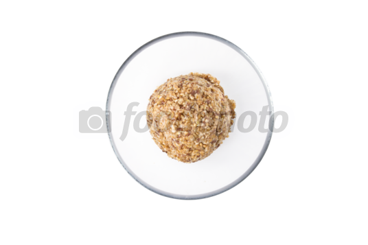 Transparent cereal red bowl. Foodphoto ca photo hot