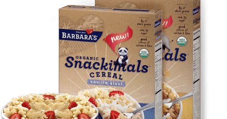 Transparent cereal snackimals. Confessions of a frugal