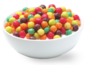 Transparent cereal trix. Is your breakfast holding