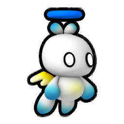 Hero sonic news network. Transparent chao angel banner free stock
