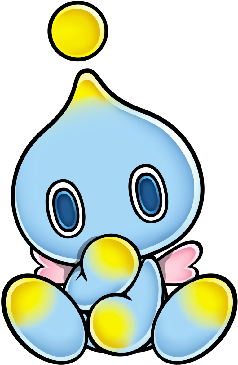 Sonic the hedgehog games. Transparent chao background image free