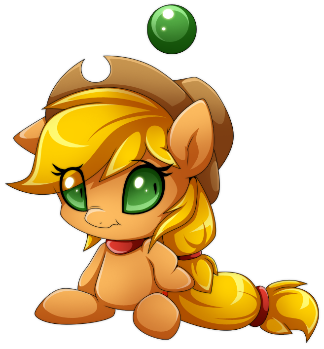 applejack artist extra. Transparent chao cute image free download