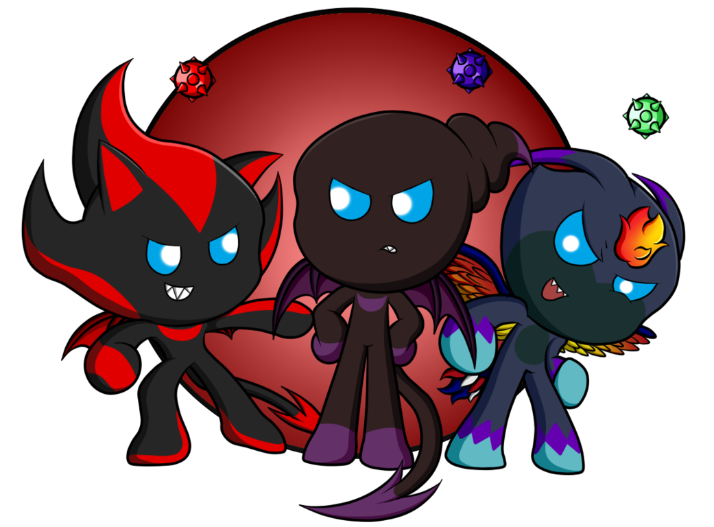 Transparent chao demon. Dark old by rahkshichao