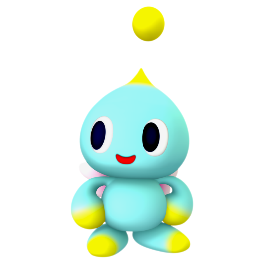 Transparent chao nibroc rock. Normal render by on