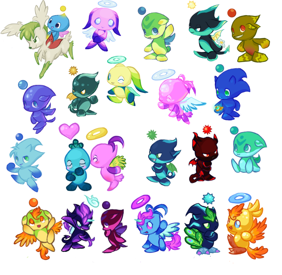 Transparent chao onyx. Dump by bedupolker on