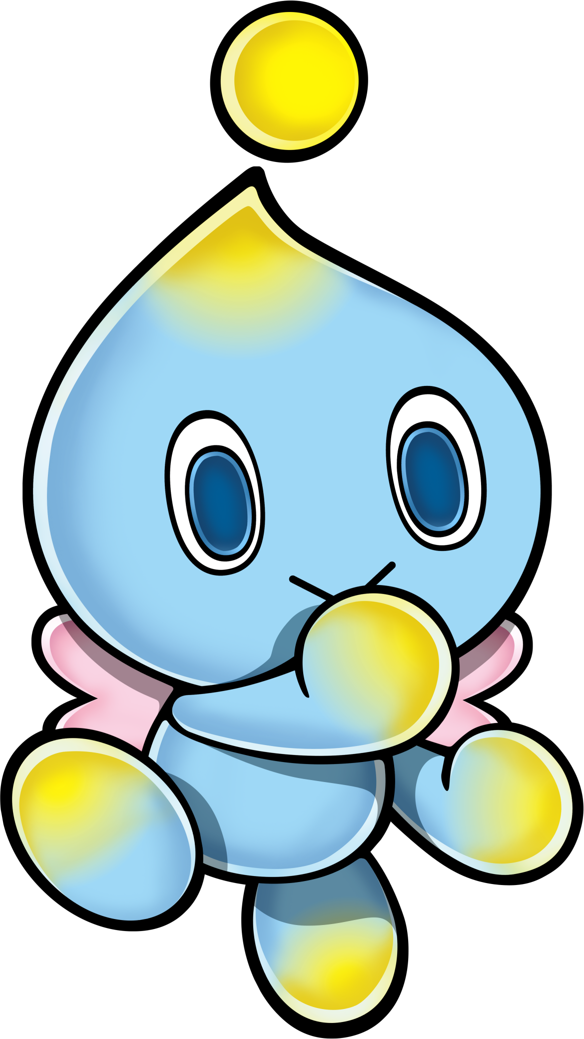 Transparent chao sonic. Image png news network