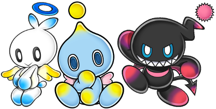 Transparent chao sonic character. Wikipedia