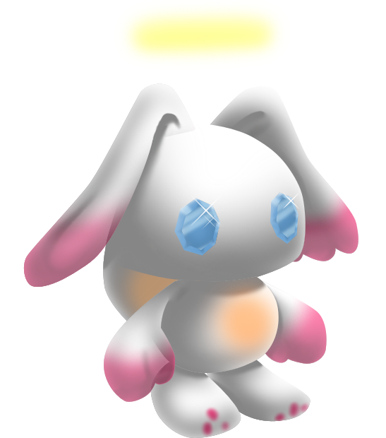 Transparent chao translucent. The angel by darkmetaller