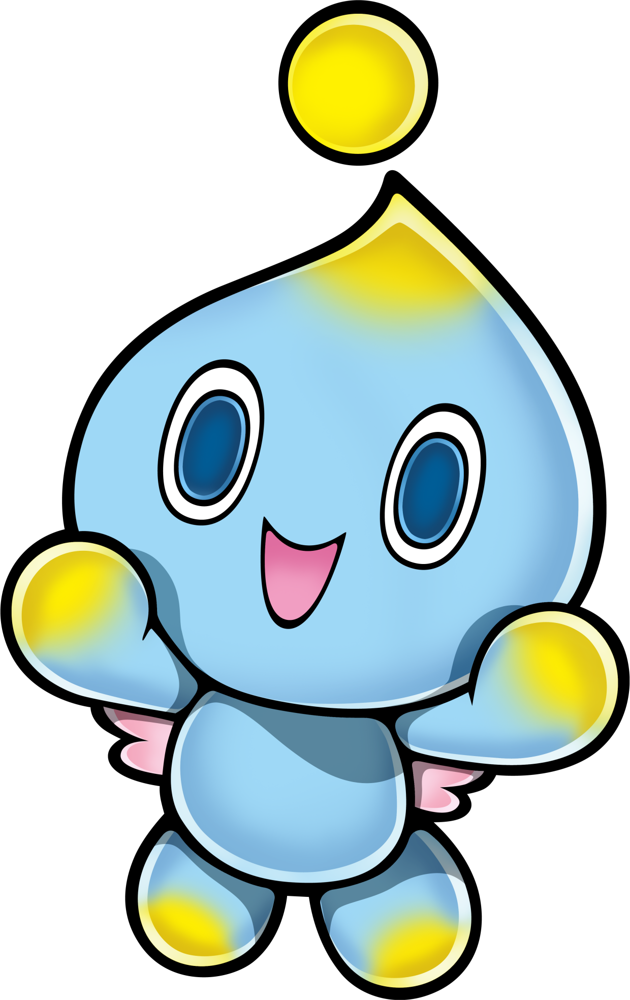 Transparent chao translucent. Image png sonic news