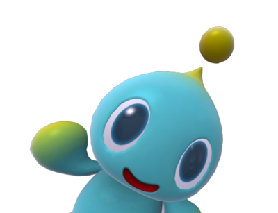 Waving by roaxes on. Transparent chao clipart freeuse library