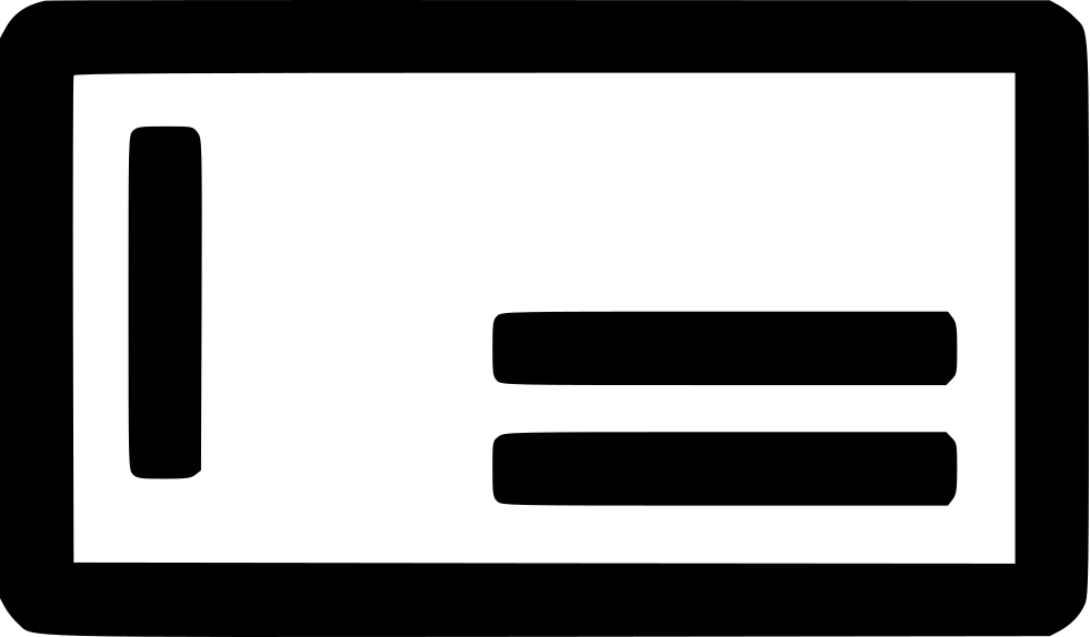 Transparent check cheque. Money guaranteed svg png