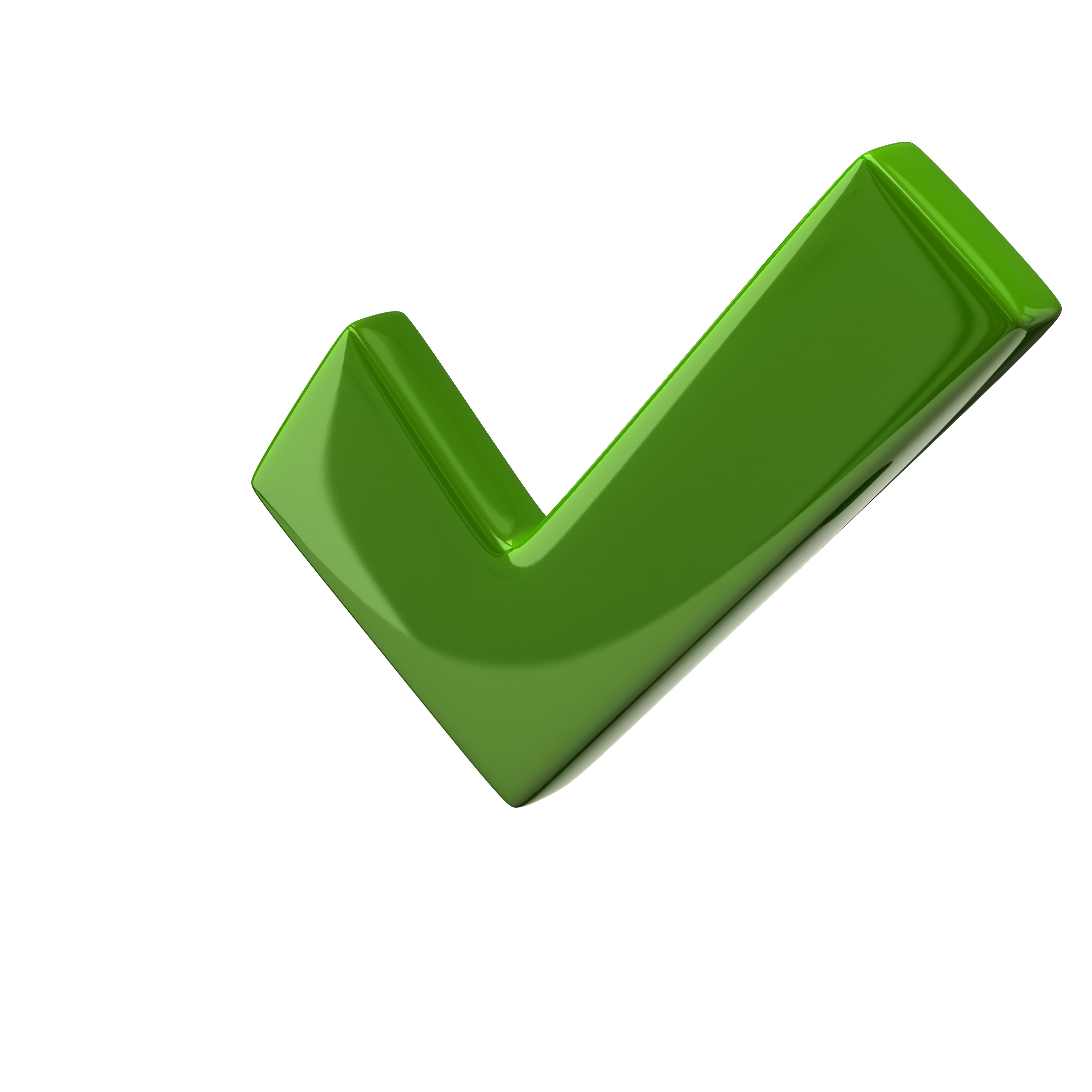 Transparent check large green. Ds image checkmark format