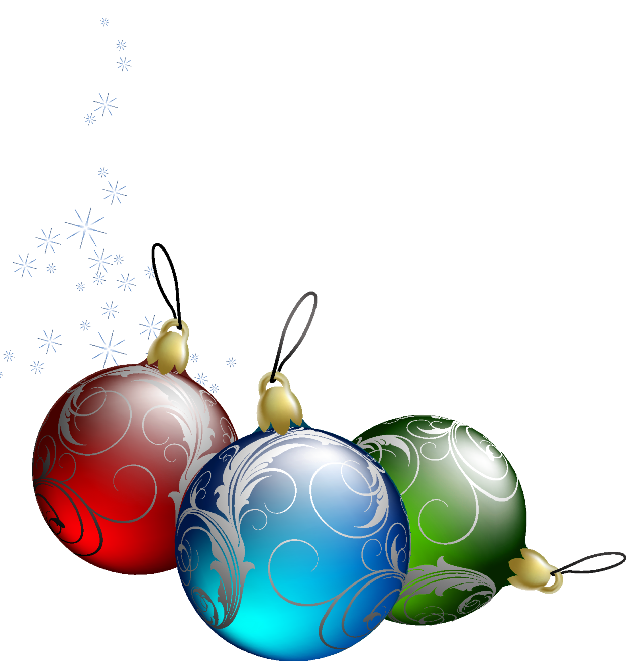 Transparent christmas ornaments png. Free pictures of download