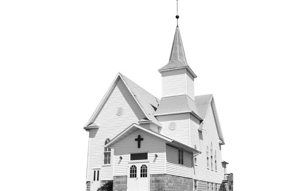 Transparent church background. Fighting for history anderson