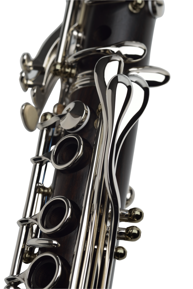 Transparent clarinet buffet. Tradition new model b