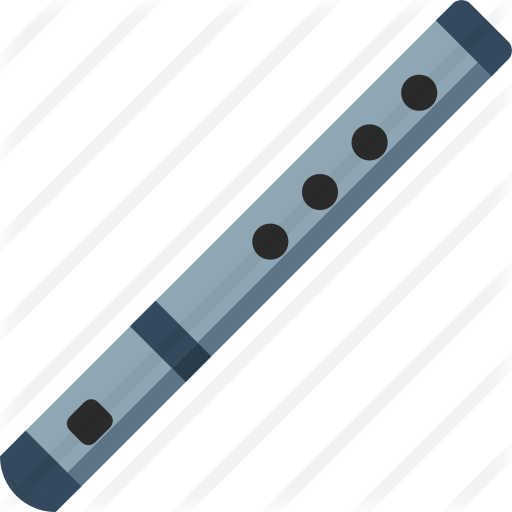Transparent clarinet svg. Free music icons