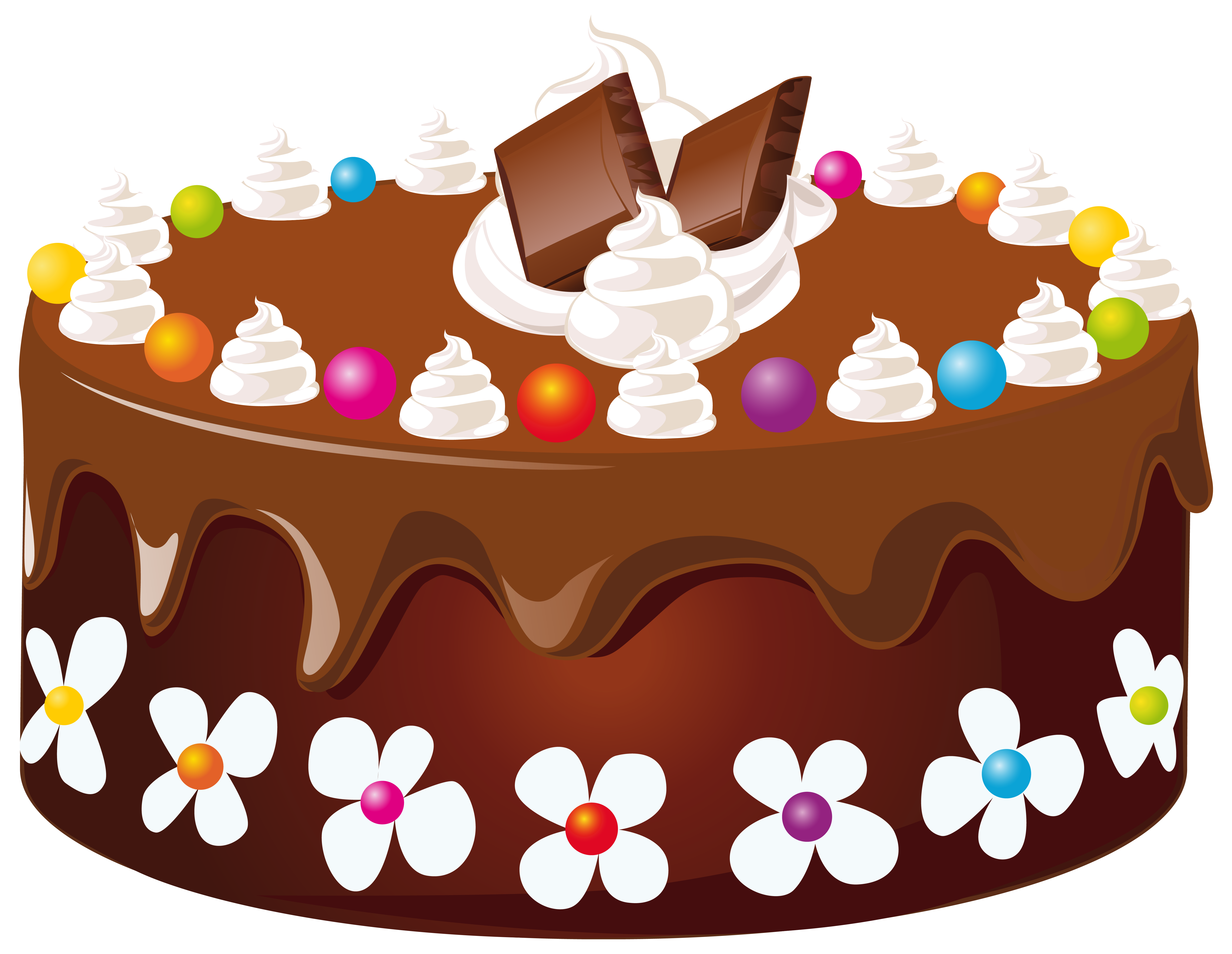 Chocolate png image gallery. Cake clipart cake design image black and white