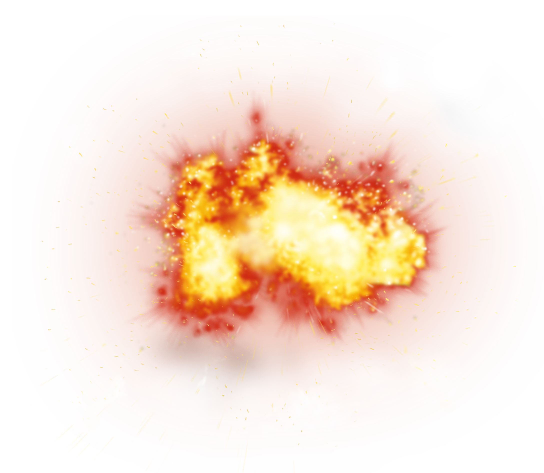 transparent explosions background