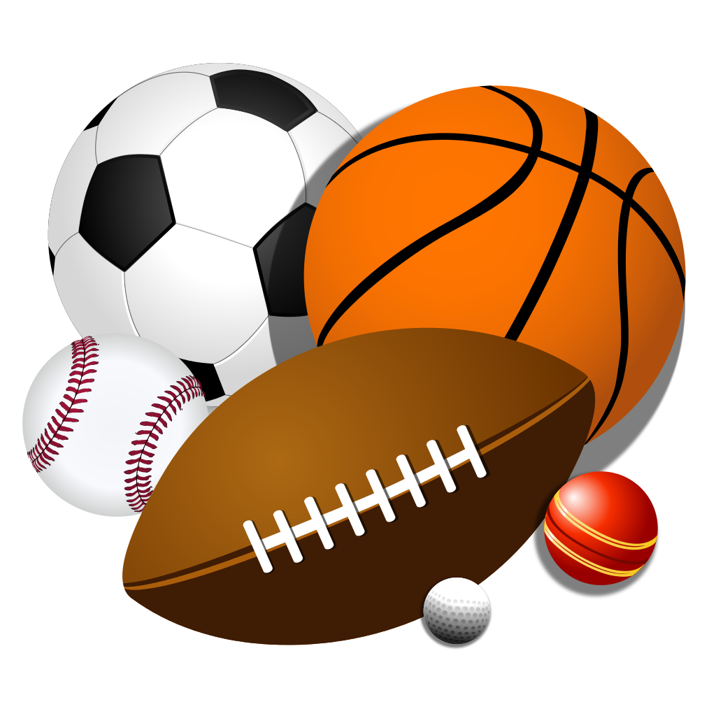 Sport transparent pencil and. Balls clipart image library