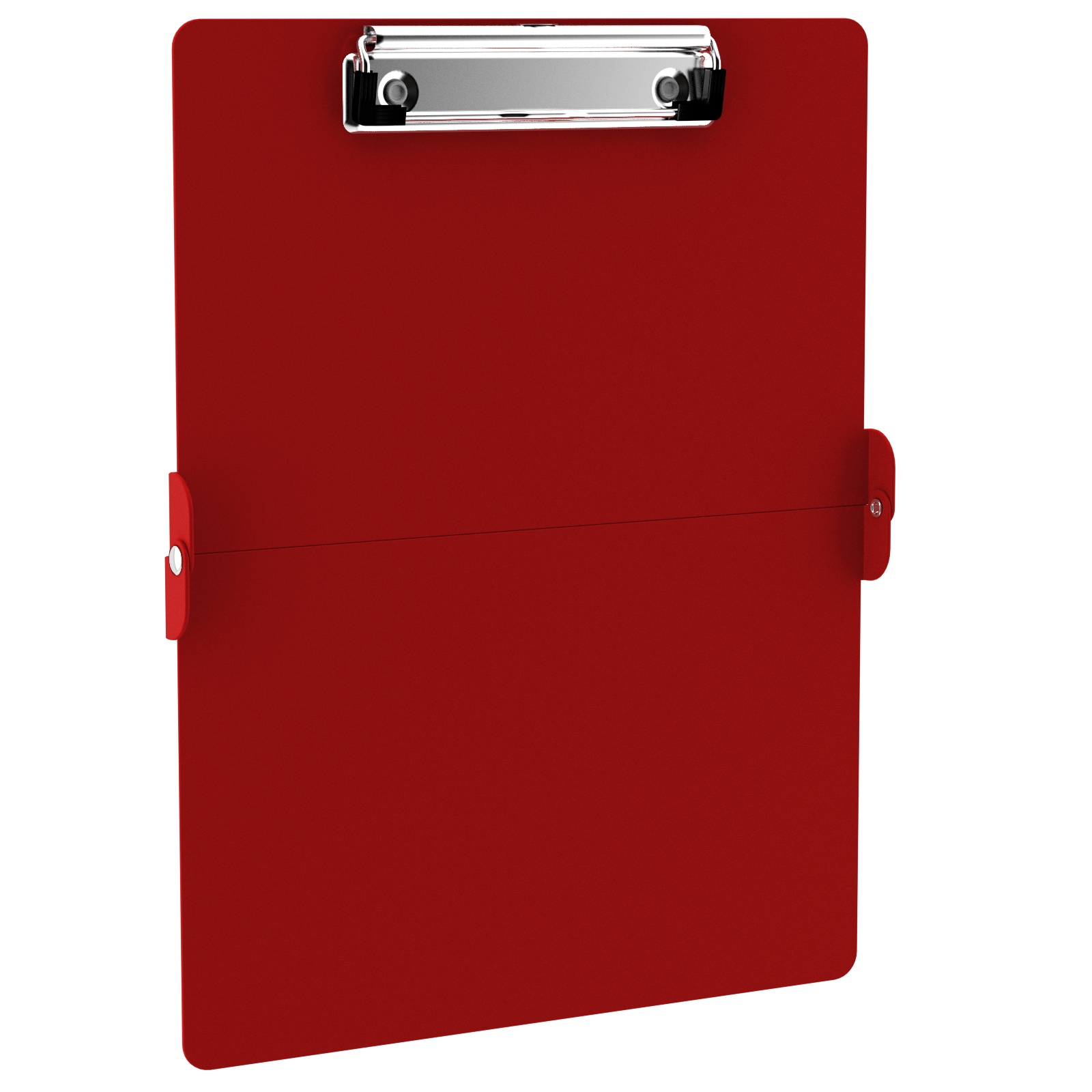 Transparent clipboard hard plastic. Red clipboards category