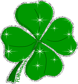 Transparent clover sparkly. What is better hearts