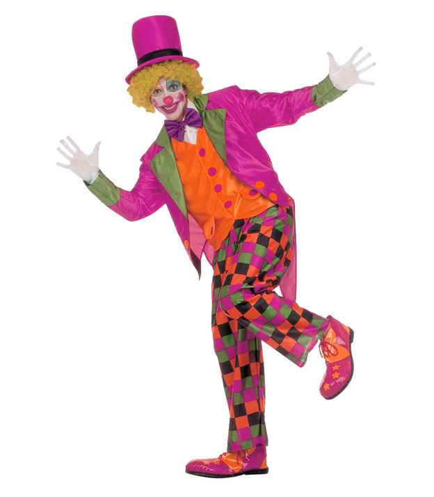 Pink background . Transparent clown graphic library download