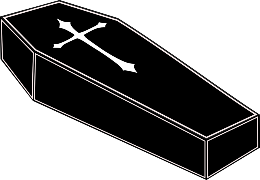 Png transparent images pluspng. Coffin clipart banner black and white download