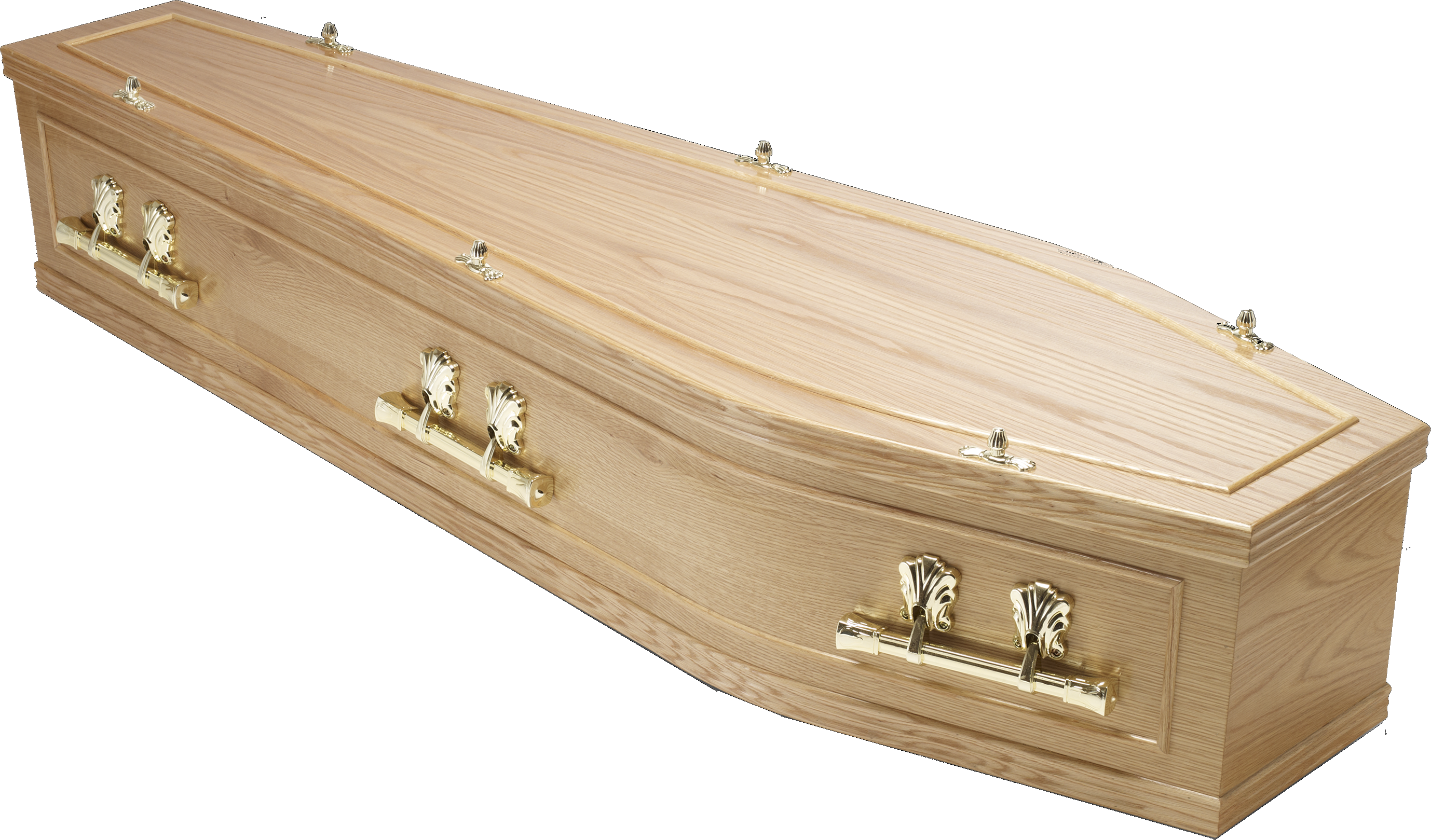 Transparent coffin english. Traditional wood coffins compare