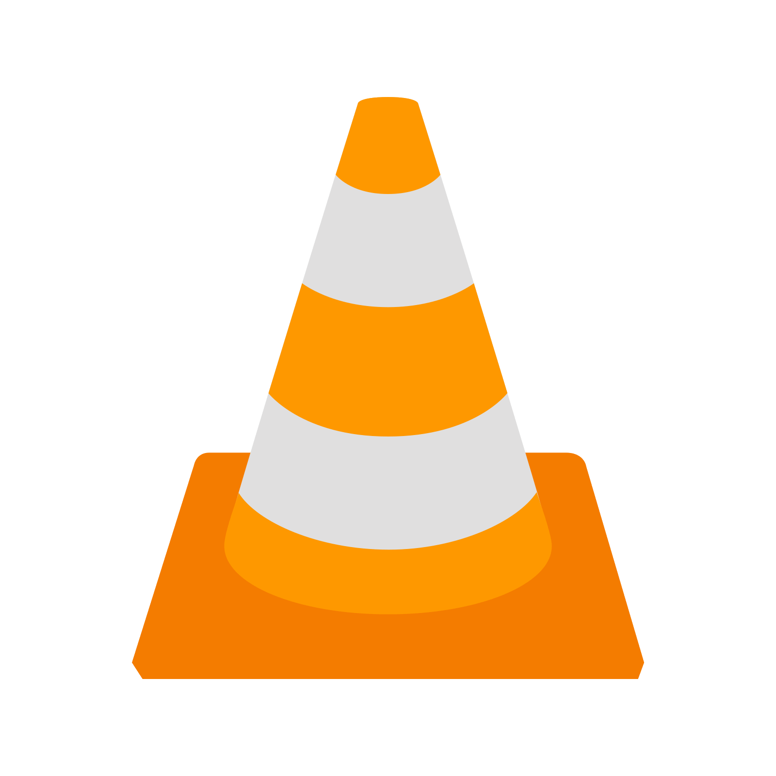 Transparent cone vlc. Media player computer icons