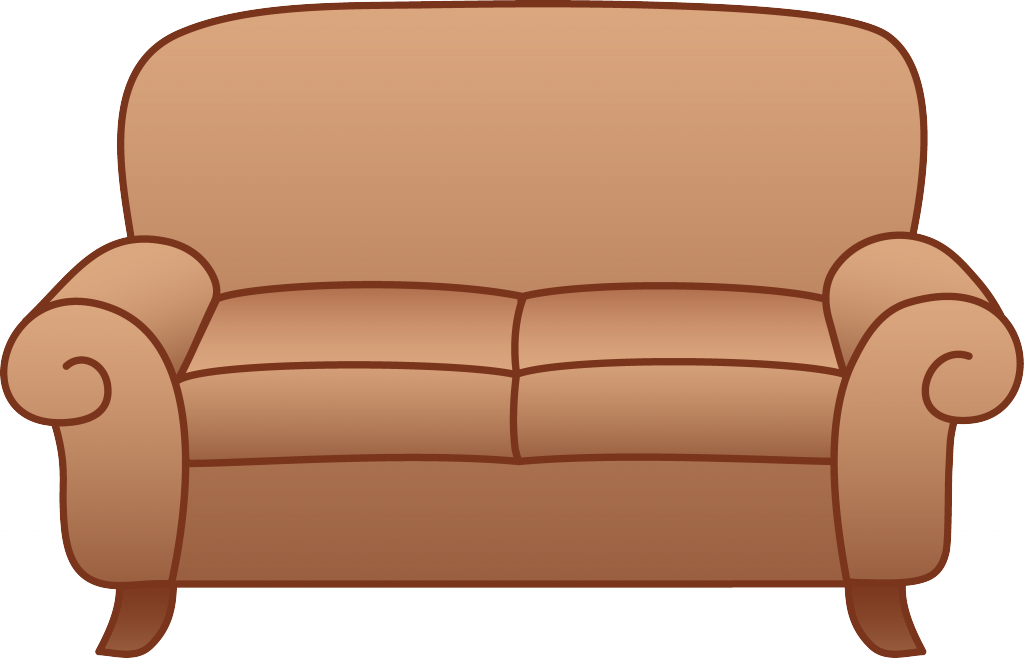 Transparent Couch Chair Cartoon Picture 2780471