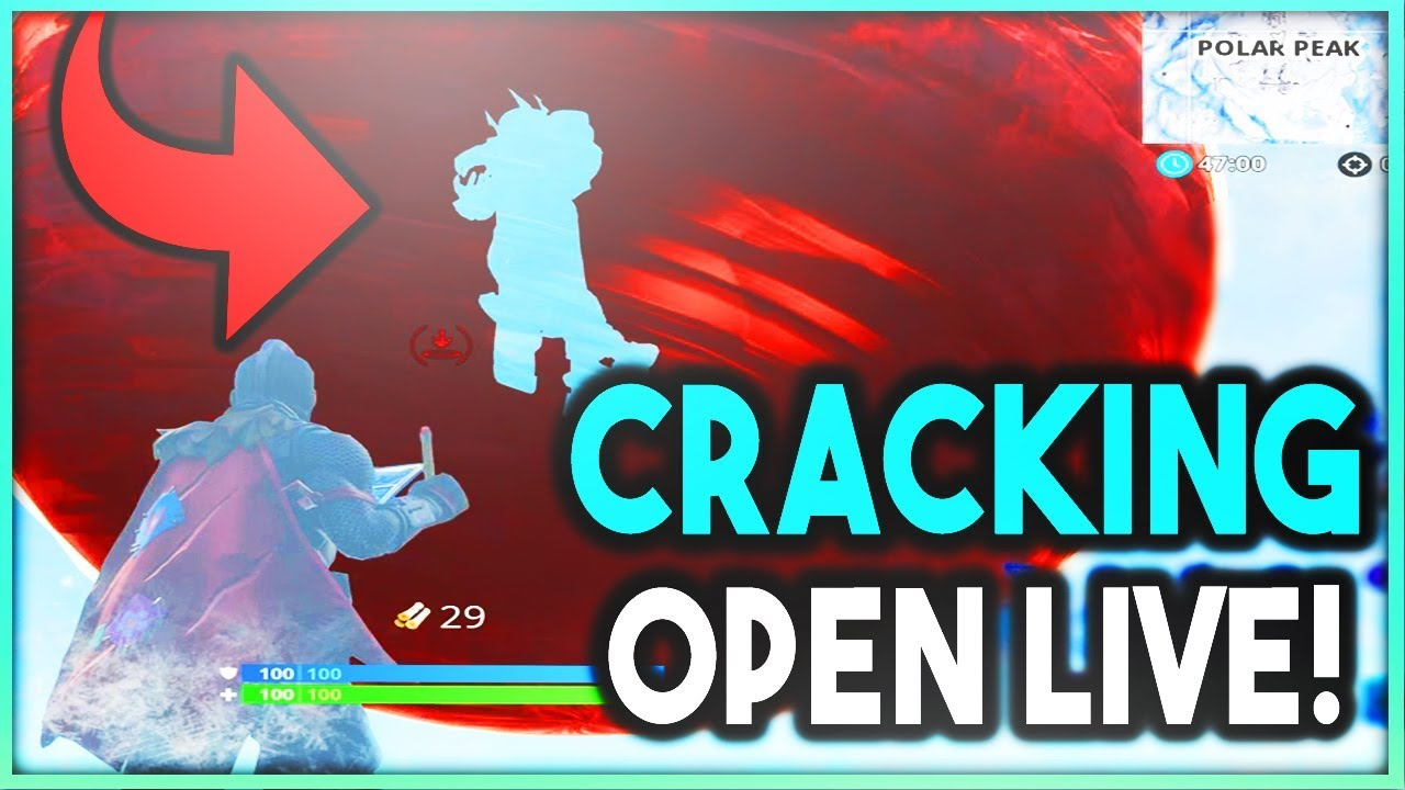 Transparent cracks fortnite. Live sphere watching the