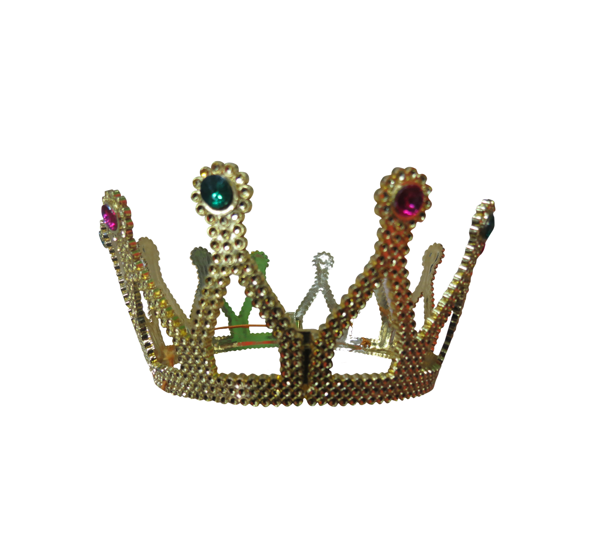 Transparent crowns fashion. Crown clothing accessories bitxi