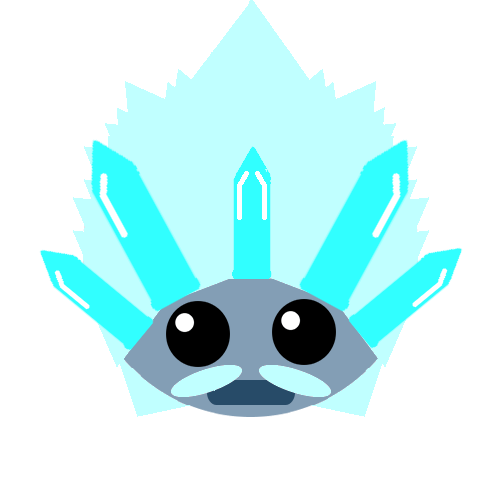 Transparent d colossal. Frostbite yeti of the