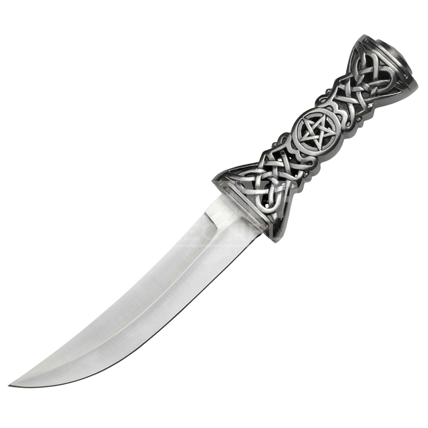 Transparent dagger curved. Celtic mc fm from