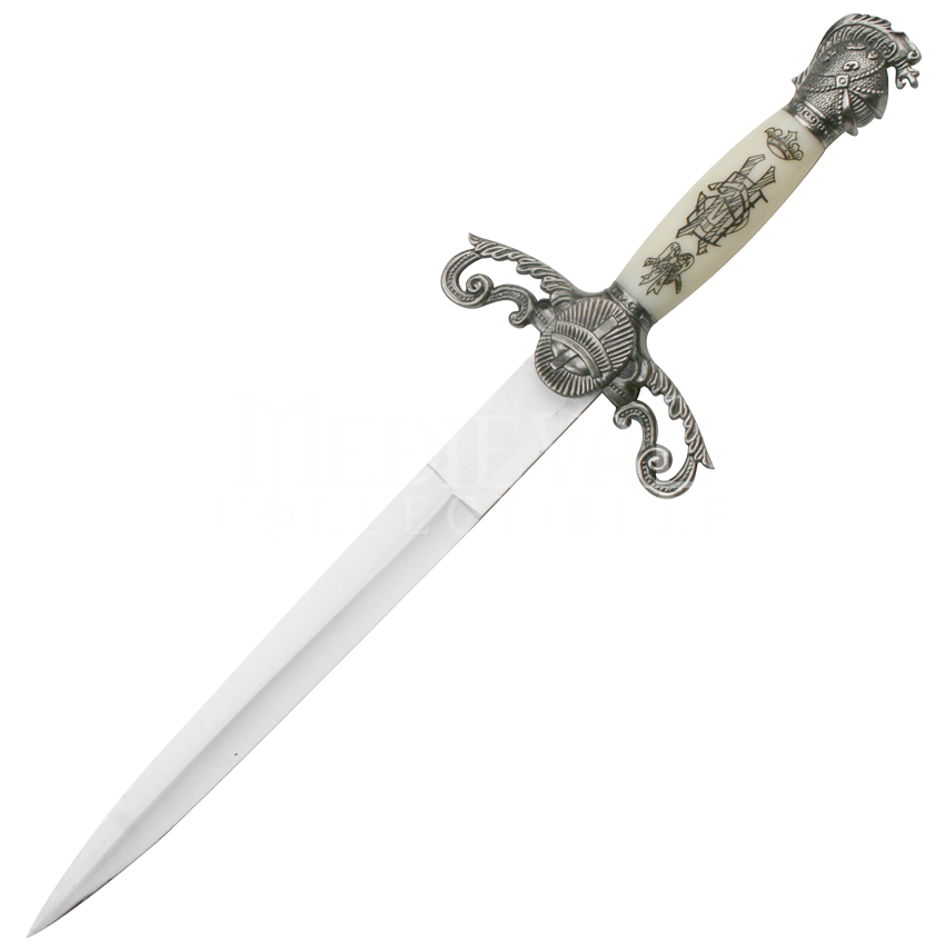 Transparent dagger black and white. Png