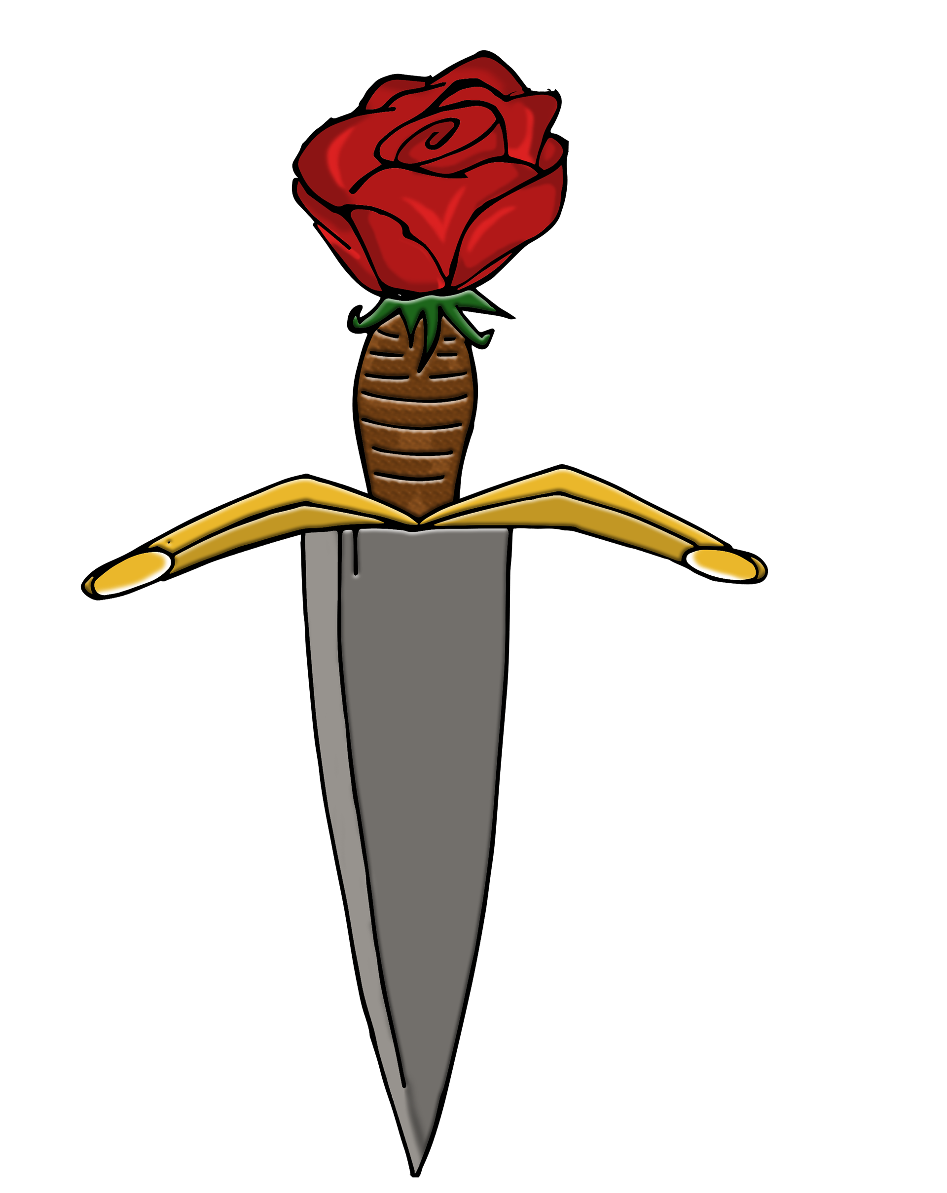 Transparent dagger romeo and juliet. Shaun lewis poster project