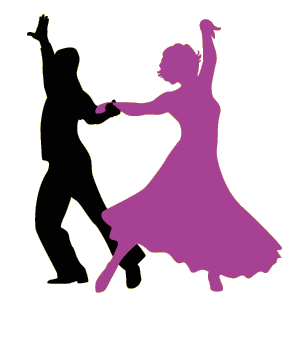 Dance silhouette at getdrawings. Dancer transparent ballroom svg black and white download