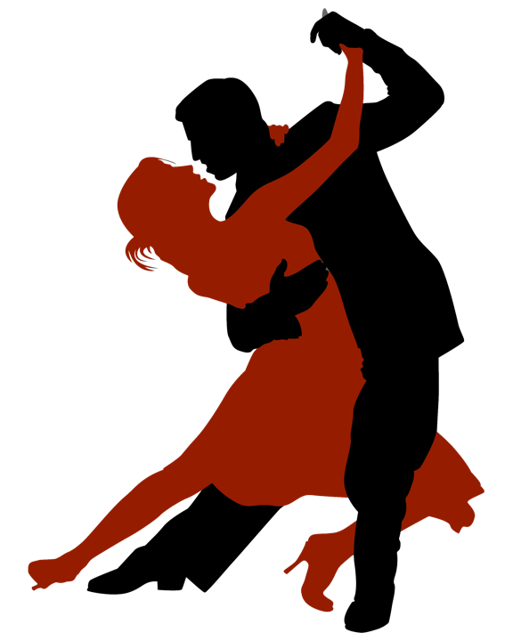 Transparent dancer tango. Learn to argentine w