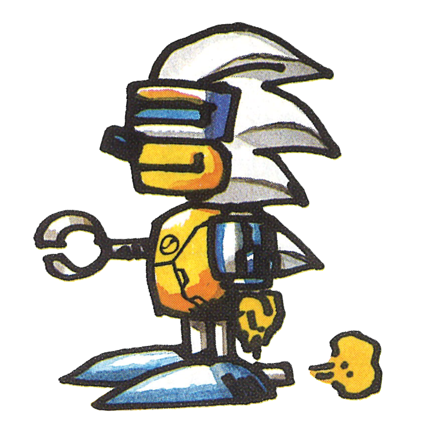 Silver drawing sonic character. Image png news network