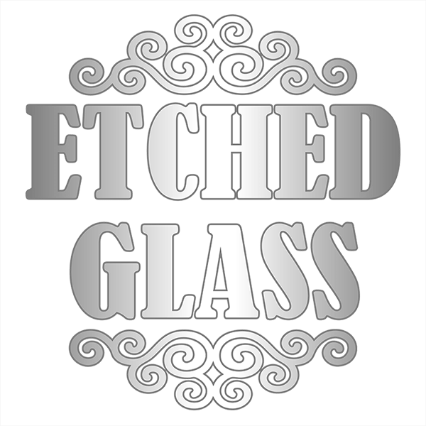 Transparent decals etched glass. Thriftysigns car magnets license